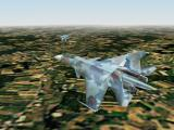 Jane's Combat Simulations: USAF Windows Two Su-35 over Germany.