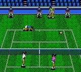 Wimbledon Championship Tennis Game Gear Another game won