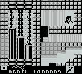 Kaeru no tame ni Kane wa Naru Game Boy Using the switch will repair the bridge