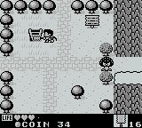 Kaeru no tame ni Kane wa Naru Game Boy A ladder was hidden underneath the tree
