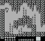 Kaeru no tame ni Kane wa Naru Game Boy As a frog, you can swim through water and jump much higher