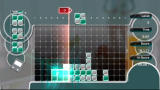 Lumines Live! Xbox 360 The time line clears away more blocks.