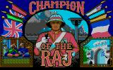 Champion of the Raj Atari ST Loading screen