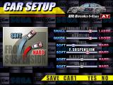 Sega Touring Car Championship Windows Tweaking the car is only possible in the PC Side