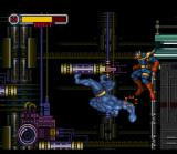 X-Men: Mutant Apocalypse SNES Beast jumping from platform to platform
