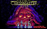 The Fidelity Chessmaster 2100 DOS Title Screen