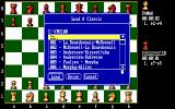 The Fidelity Chessmaster 2100 DOS You may load a different classic games as well as your custom ones...