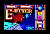 Gutter Amstrad CPC Title Screen