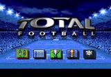 Total Football Genesis Main menu