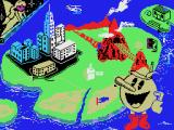 Pac-Land MSX Loading screen