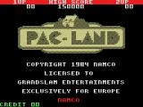 Pac-Land MSX Title screen