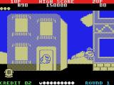 Pac-Land MSX Going to town