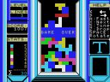 Tetris MSX (MSX1) Game over