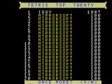 Tetris MSX (MSX1) I made the top list
