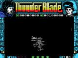 ThunderBlade MSX Shot down on the ground