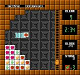 Plotting NES A fruit-themed level