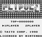 Plotting Game Boy Title screen