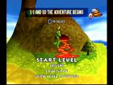 Croc: Legend of the Gobbos PlayStation Level select