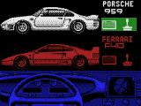 The Duel: Test Drive II MSX Choose a car