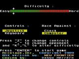The Duel: Test Drive II MSX Game settings