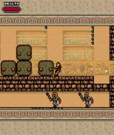 Tomb Raider: The Osiris Codex J2ME Lara can push and pull blocks just like in the PC games.