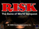 Risk: The Game of Global Domination Windows Title screen (CD-ROM version)