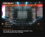 Tekken 5 PlayStation 2 Main menu