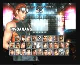 Tekken 5 PlayStation 2 Fighter selection screen
