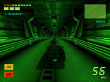 Knight Rider 2: The Game Windows In dark areas, night vision is activated.