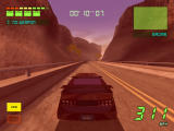 Knight Rider 2: The Game Windows In the super pursuit mode, the camera zooms in and the screen turns red.