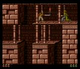 Prince of Persia SNES Fighting a guard