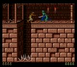 Prince of Persia SNES Falling down