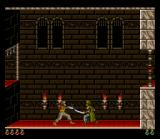 Prince of Persia SNES A tutorial level