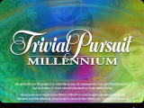 Trivial Pursuit: Millennium Edition Windows Title screen