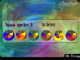 Trivial Pursuit: Millennium Edition Windows Players can enter their name and pick a colour.