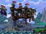 The Adventures of Lomax PlayStation You don't get an intro or nothing. The first thing you see is this title screen.