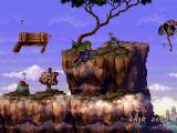 The Adventures of Lomax PlayStation Compared to the Windows version PSX Lomax features some nice transparencies.
