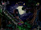 The Adventures of Lomax PlayStation This spooky level is quite possibly the single best piece of pixel art I have ever seen.
