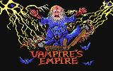 Vampire's Empire Commodore 64 Title Screen
