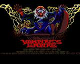 Vampire's Empire Amiga Title Screen