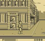 Teenage Mutant Ninja Turtles II:  Back from the Sewers Game Boy Mean Streets