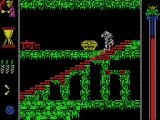 Vampire's Empire MSX Watch out for the coffins