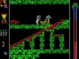 Vampire's Empire MSX Chased by a baddie