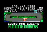 Sooty's Fun With Numbers Amstrad CPC Get it right and you keep moving