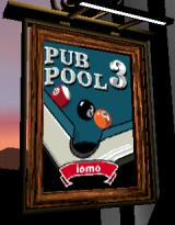 Pub Pool 3 J2ME Title screen