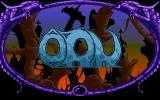 Ork Amiga Title screen. The only part of the game with music.