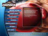 Heavyweight Thunder Windows Main menu