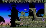 Ork Atari ST Most boss battles are pretty straight-forward.
