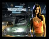 Need for Speed Underground 2 PlayStation 2 Title screen