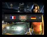 Need for Speed Underground 2 PlayStation 2 Language select